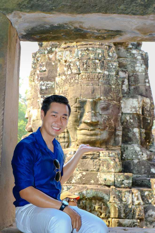 MC Nguyên Khang đi phượt Campuchia với 5 triệu đồng - 2