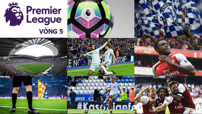 """Ngoại hạng Anh trước vòng 5: Chelsea đại chiến Arsenal, MU """"đón"""" Rooney trở lại - 3"""