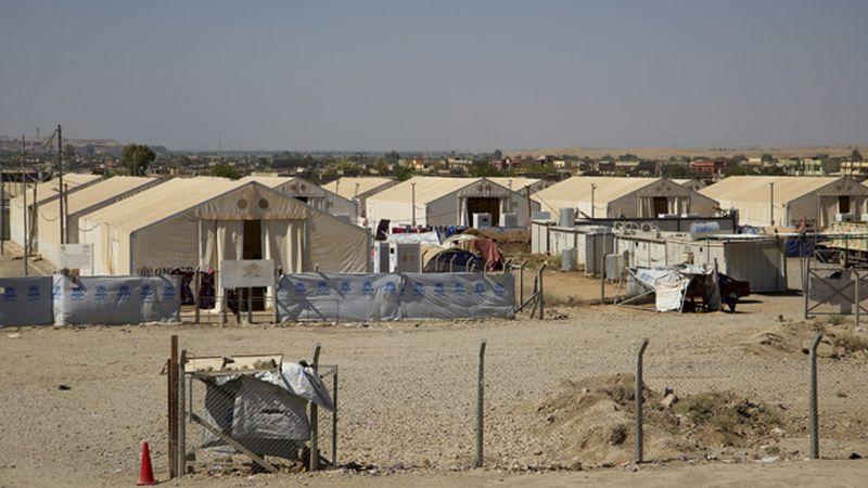 Nỗi sợ hãi của 1.400 cô dâu IS trong khu trại bí mật ở Iraq - 1