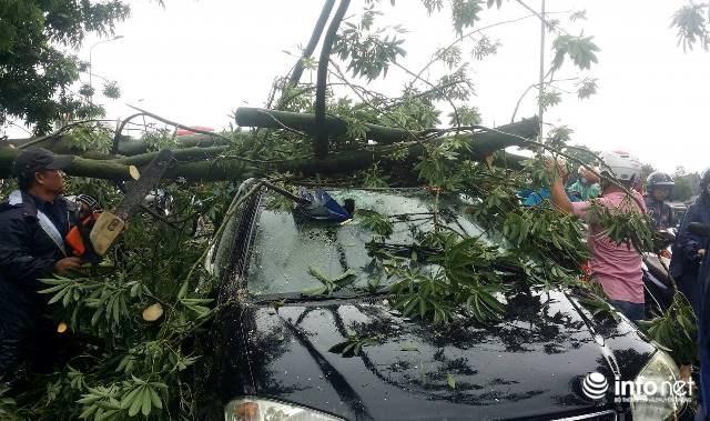 Siêu bão số 10 áp sát đất liền: Toàn bộ học sinh Quảng Trị, Huế nghỉ học - ảnh 2