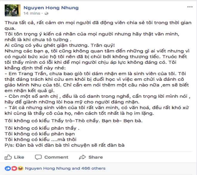 Bênh vực NSND Anh Tú, Trang Trần tranh cãi nảy lửa với vợ Xuân Bắc - 2
