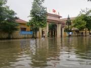 Quảng Bình: Chủ động cho học sinh nghỉ học để phòng tránh bão số 10