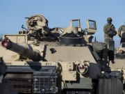 Mỹ đưa hàng trăm xe tăng răn đe 100.000 quân Nga tập trận