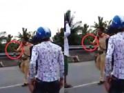 Tin tức trong ngày - CSGT rút súng khi xử lý vi phạm giao thông