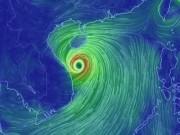 Tin tức trong ngày - Bản tin thời tiết 14h30: Bão số 10 giật cấp 15, Nghệ An-Quảng Ngãi mưa cực to