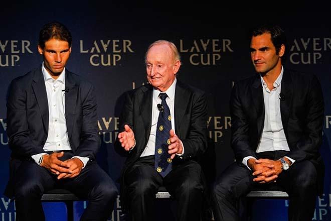 Cặp đôi vĩ đại nhất lịch sử: Nadal - Federer chung đội, áp đảo quần hùng 2