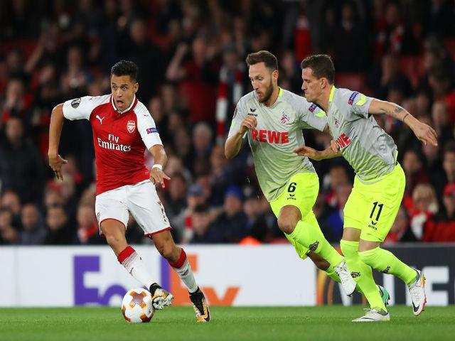 "Arsenal ngược dòng: Sanchez - Wenger tung hứng, Cologne hứa ""trả thù"" - 3"