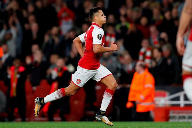 "Arsenal ngược dòng: Sanchez - Wenger tung hứng, Cologne hứa ""trả thù"" - 2"