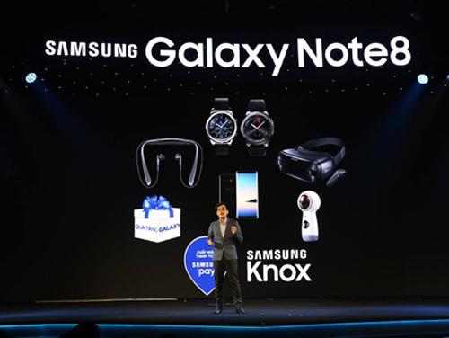 Những khoảnh khắc ấn tượng tại lễ ra mắt Galaxy Note8 ở Việt Nam - 6
