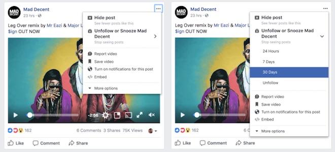 Facebook cho phép bỏ theo dõi ai đó tạm thời - 2