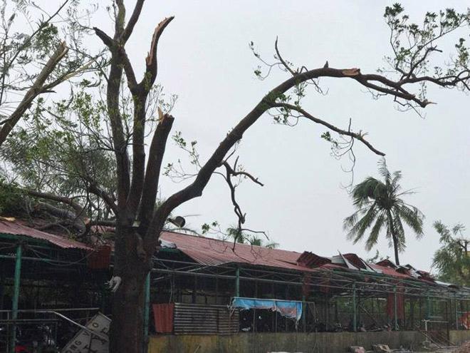CẬP NHẬT bão số 10: Bão đổ bộ, tháp truyền hình cao 100m đổ sập - 6