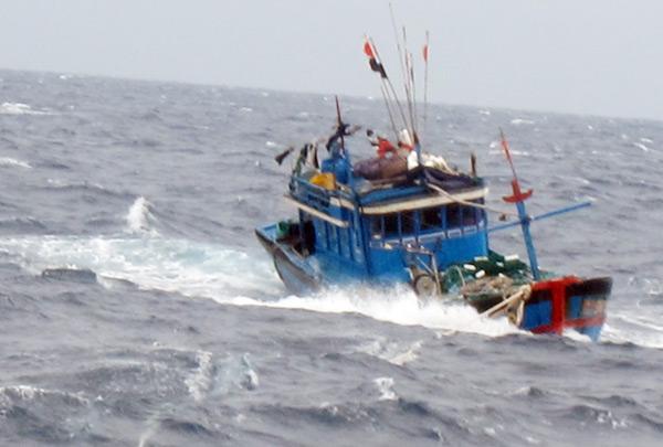 10 thuyền viên Thanh Hóa bị mất liên lạc trong cơn bão số 10 - 1