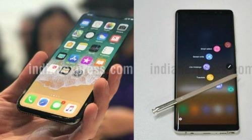 iPhone X so găng cùng Galaxy Note 8: Ai ngon hơn? - 1