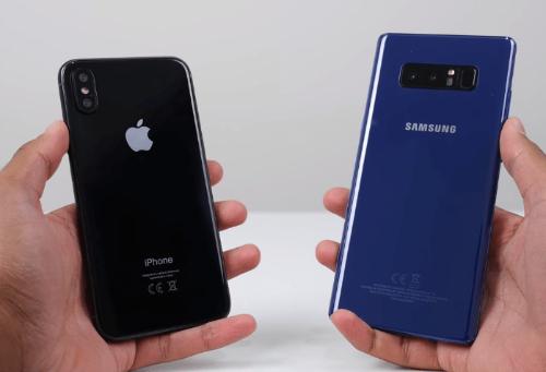 iPhone X so găng cùng Galaxy Note 8: Ai ngon hơn? - 4