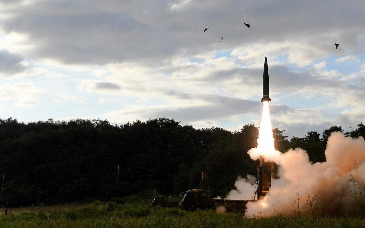 HQ tung video phóng hai tên lửa sát biên giới Triều Tiên - 1