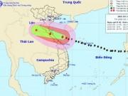 Tin tức trong ngày - Bản tin thời tiết 7h30: Bão số 10 sắp đổ bộ đất liền, miền Trung đang mưa như trút nước