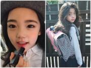 """Chưa học hết cấp 1, các tiểu mỹ nhân Hàn Quốc đã đeo  """" mặt giả """""""