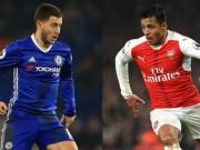 Bóng đá - Chelsea đấu Arsenal: Wenger cầu cứu Sanchez, Hazard sắm vai sát thủ