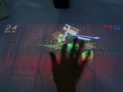 Công nghệ thông tin - Video: Chơi game chém trái cây trên mặt bàn như... khoa học viễn tưởng