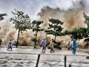 Tin tức trong ngày - CẬP NHẬT bão số 10 ngày 15/9: Bão sang Lào sau 6 giờ quần thảo miền Trung