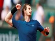 """Thể thao - """"Tứ đại hào kiệt"""" làng tennis: Murray không xứng đáng góp mặt"""