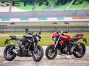 Triumph Street Triple 765 S 2017 ra mắt tại Malaysia, giá 287 triệu đồng