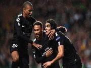"""Bóng đá - Tam tấu """"CMN"""" 465 triệu euro thăng hoa: PSG ăn đứt MU, vượt mặt Barca-Real"""
