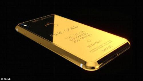 CHOÁNG: Xuất hiện iPhone X độ vàng giá 1,6 tỷ đồng - 1