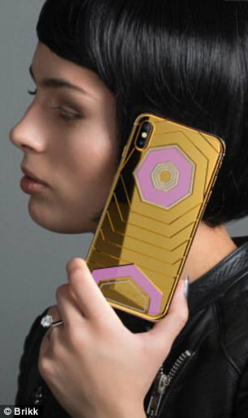 CHOÁNG: Xuất hiện iPhone X độ vàng giá 1,6 tỷ đồng - 4