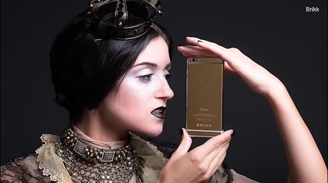 CHOÁNG: Xuất hiện iPhone X độ vàng giá 1,6 tỷ đồng