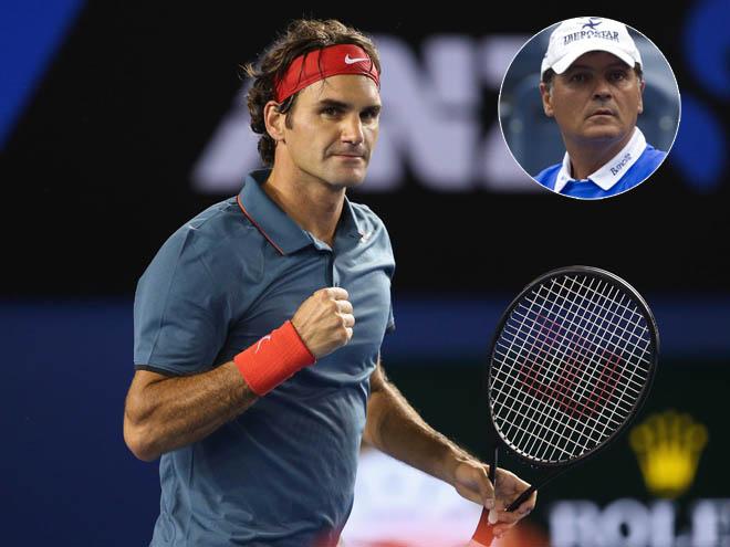 """Vi ngai vàng Grand Slam, Federer có dám """"bái sư"""" chú Nadal? 2"""
