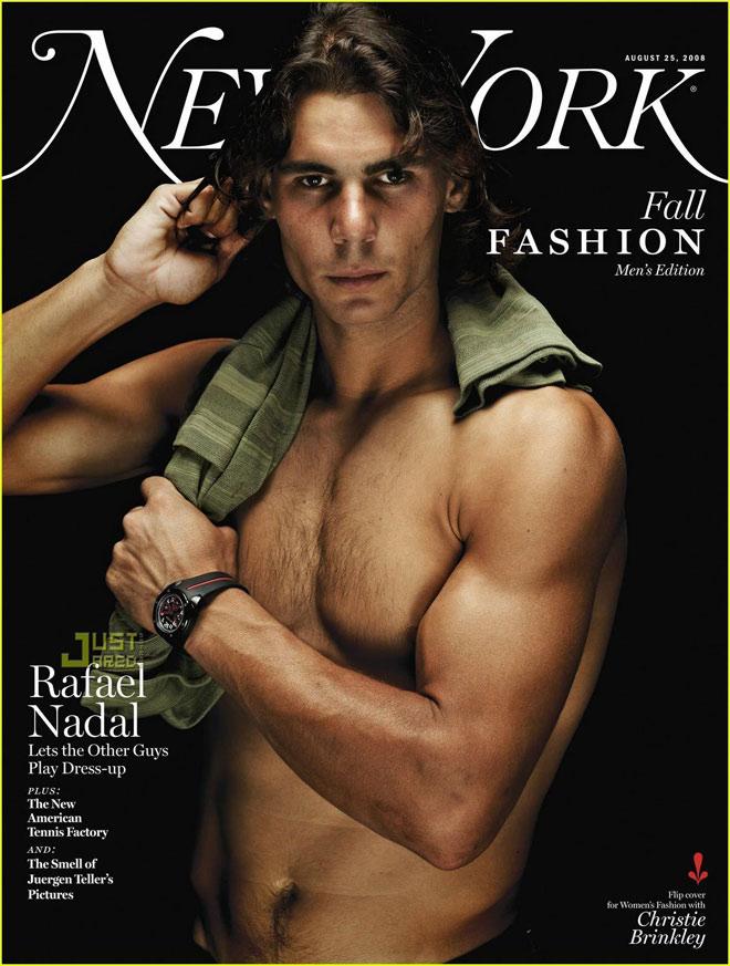 """""""Bò tót làng banh nỉ"""" Nadal lực lưỡng vượt xa Roger Federer - 11"""