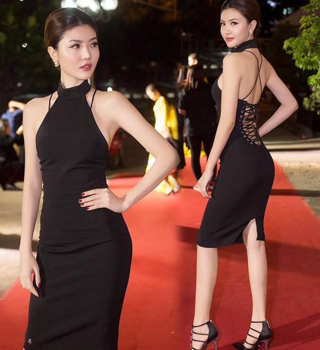 """Váy táo bạo tiết lộ dáng sexy của """"mỹ nữ Vũng Tàu đi xe 70 tỷ"""" - 10"""