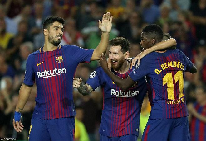 """Getafe – Barcelona: Công phá """"pháo đài Coliseum"""""""