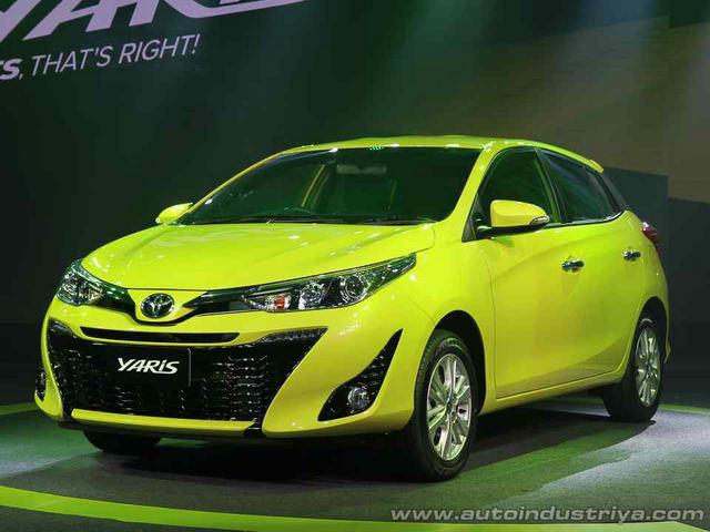 Toyota Yaris 2017 có giá khởi điểm 329 triệu đồng
