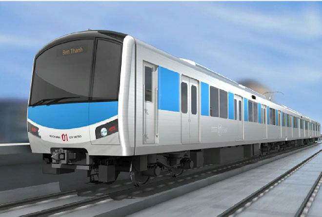 Lộ diện mẫu thiết kế tàu metro Sài Gòn mô phỏng đầu máy bay - 2