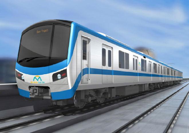 Lộ diện mẫu thiết kế tàu metro Sài Gòn mô phỏng đầu máy bay - 4
