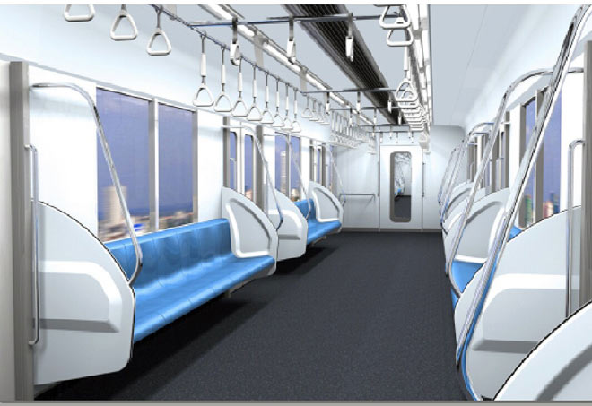Lộ diện mẫu thiết kế tàu metro Sài Gòn mô phỏng đầu máy bay - 5