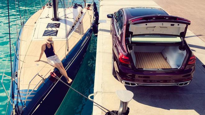 BMW M760Li Nautor's Swan: Xe sang cảm hứng du thuyền - 4