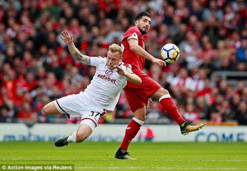 Chi tiết Liverpool - Burnley: 3 mét đá trúng xà ngang (KT) - 6