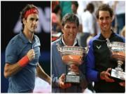 """Vi ngai vàng Grand Slam, Federer có dám  """" bái sư """"  chú Nadal?"""