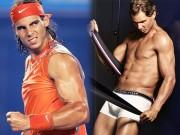 """Làm đẹp - """"Bò tót làng banh nỉ"""" Nadal lực lưỡng vượt xa Roger Federer"""