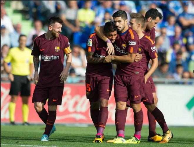 """Messi """"im tiếng"""", Barca lên đỉnh La Liga nhờ """"hàng thải Trung Quốc"""" - 4"""