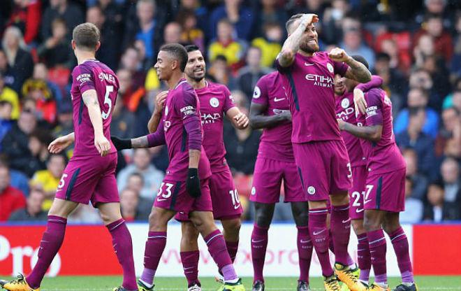 Man City hủy diệt 15 bàn/3 trận: Pep xây đế chế Barca, Bayern 2.0 - 1