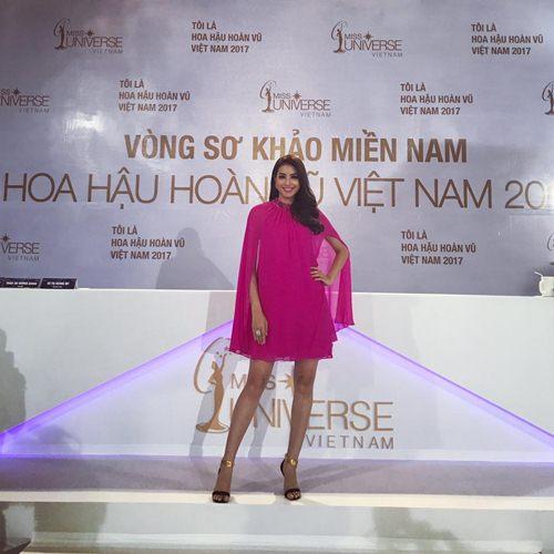 Đầm cape xưa lắc xưa lơ mà sao Phạm Hương mặc vẫn hot - 4