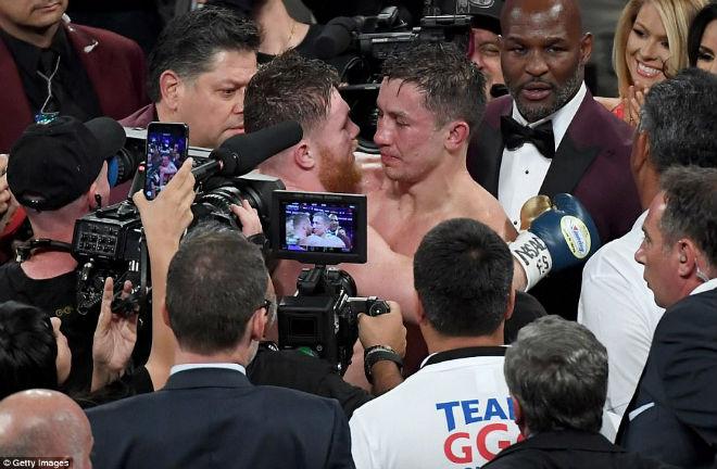 """Boxing kinh điển Golovkin - Alvarez: Tập 1 nóng hổi, chờ tập 2 """"máu lửa"""" 1"""