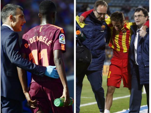 """""""Bom tấn"""" Dembele nghỉ 4 tháng, Barca đại chiến Real vì sao Liverpool 2"""