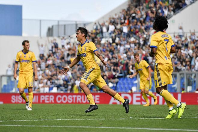 "Sassuolo - Juventus: ""Tiểu Messi"" thăng hoa, hat-trick đẳng cấp"