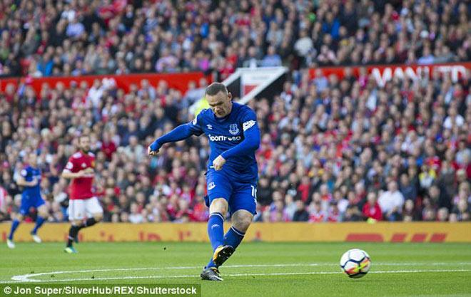 """Rooney đấu MU: Chơi bóng mượt mà, khuấy đảo hàng thủ """"Quỷ đỏ"""" - 1"""