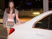 """"""" Mỹ nữ Vũng Tàu đi xe 70 tỷ """"  sang chảnh ở sân bay NÓNG nhất tuần"""
